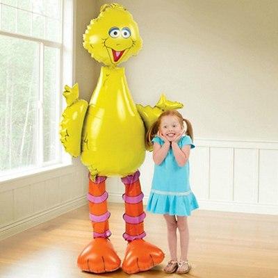 Ходячая фигура Птица желтая (157 см)